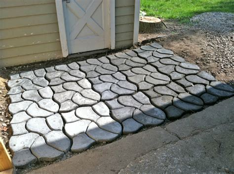 Decorative Stepping Stones Home Depot pathmate house struck