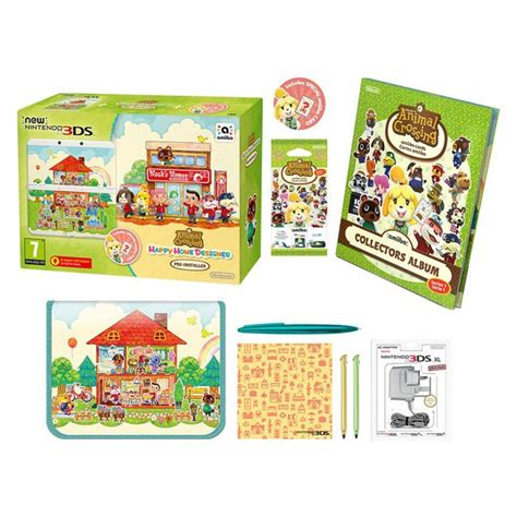 animal crossing 3ds console new nintendo 3ds animal crossing happy home designer