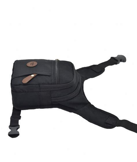 newish krinkl kumas bel bacak cantasi siyah canta modasi
