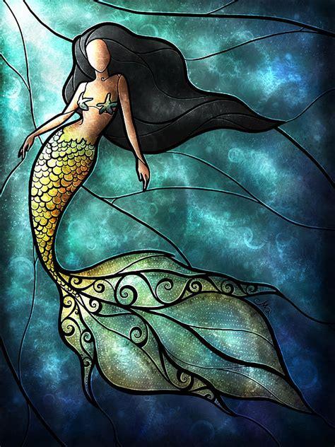 mermaid painting meerm 228 dchen mermaid on mermaids watercolor