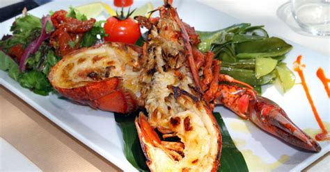 cuisine cr駮le antillaise homard thermidor recette du homard thermidor partie 1