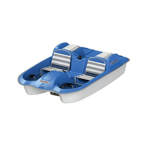 sun dolphin pedal boat reviews sun dolphin laguna 5 seater pedal boat 62551 the home depot