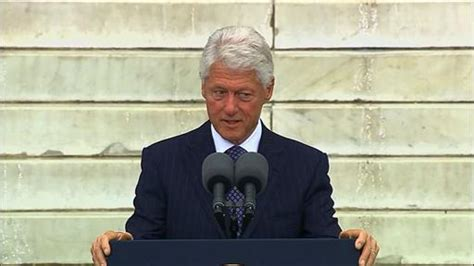 Clip Clinton On Martin Luther King by Obama Speaks At 50th Anniversary Of King S March On