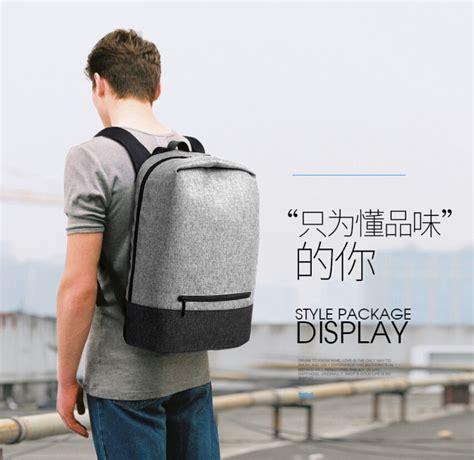 Tas Ransel Laptop Multifungsi Polo Curve Grey tas ransel laptop kus dengan usb charger port gray jakartanotebook