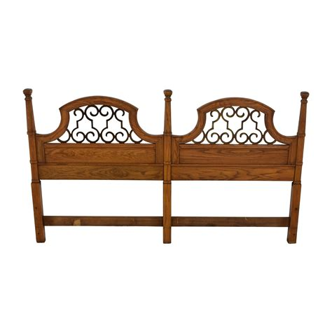 used king size headboards 68 off american drew american drew solid oak cut out