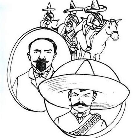 imagenes de la revolucion mexicana para niños faciles blogcolorear com dibujos para colorear disfraces y