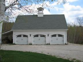 Car Barn Plans Three Car Barn Yankee Barn Homes