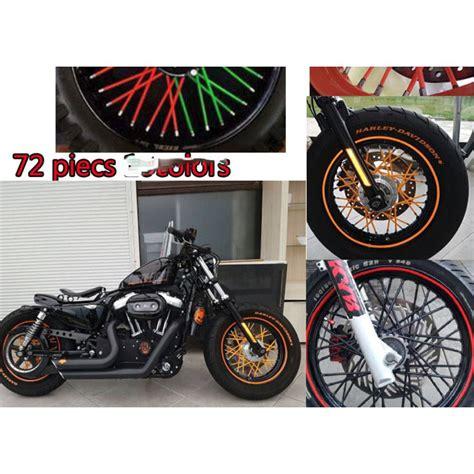 Cover Jari Jari Motor Variasi 72pcs Cover Jari Jari Motor Cover Untuk Memodifikasi Motor Juga Sepeda Agar Tak Lebih Keren