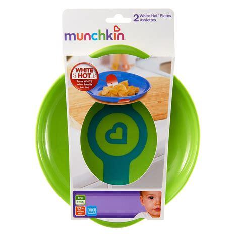 Munchkin White Plates 2 Pack by Munchkin White Plates Pack Of 2
