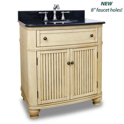 32 Bathroom Vanity Cabinet Elements Van028 T Painted Buttercream Black Granite Compton Collection 32 Quot Inch Bathroom