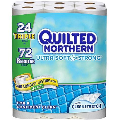 Quilted Northern Ultra Plush Rolls 48 Count by Quilted Northern Ultra Soft Strong Rolls Bath