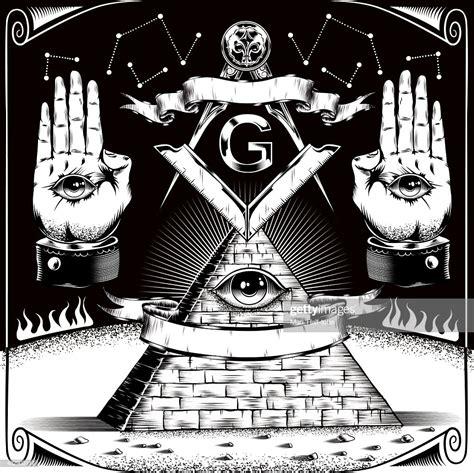 illuminati masons freemason symbols vector getty images