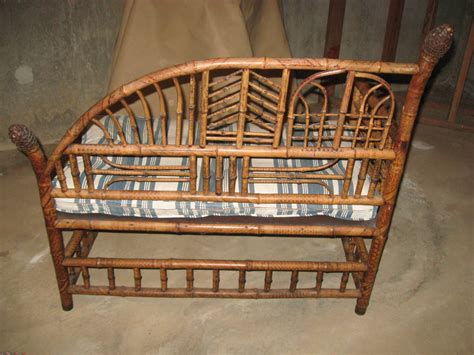 antique settees for sale antique bamboo settee and matching chair for sale at 1stdibs