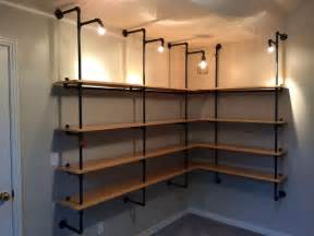 basement shelving units best 25 pipe bookshelf ideas on diy