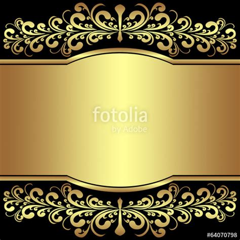 floral black orange gold background heart royalty free stock photos image 36536688 quot luxury background decorated the golden royal borders