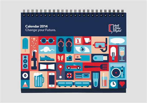 schedule layout graphic design 25 amazing calendar designs for 2014 creative bloq
