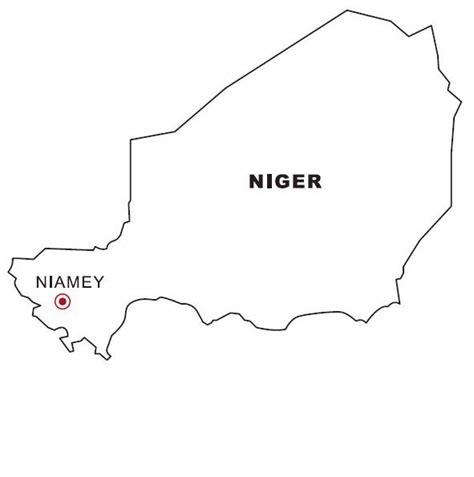 Nigeria Map Coloring Page | nigeria map coloring color area
