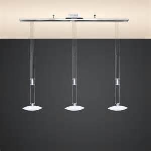 Dining Room Chandelier Led 18w Design Decken H 228 Nge Leuchte Auf Schiene Esstisch
