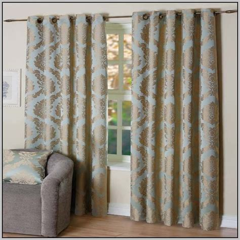 chocolate brown and blue curtains curtains duck egg blue and brown curtains home design