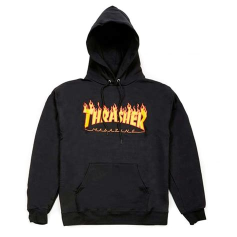 Hoodie Thrasher Cloth thrasher logo hoodie clothing natterjacks