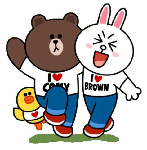 Kaos Line Emoticon Cony 1 Oceanseven 300 best brown cony images on cony brown character design and character design