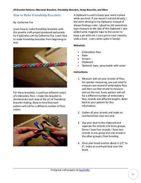 20 bracelet patterns macram bracelets friendship bracelets hemp brace