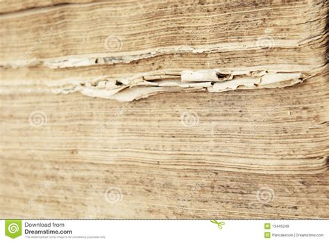 edge of books edge of ragged antique book pages royalty free stock