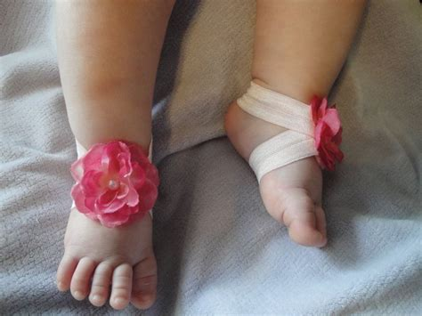 how to make baby barefoot sandals with ribbon baby sandal baby shoe barefoot blossom tm pretty in