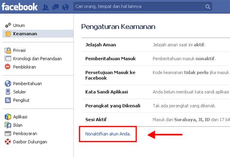 blogger akun cara menutup akun facebook toyiq on blogger