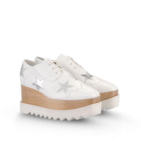 Sepatu Stella Mccartney 1 lyst stella mccartney elyse shoes in white