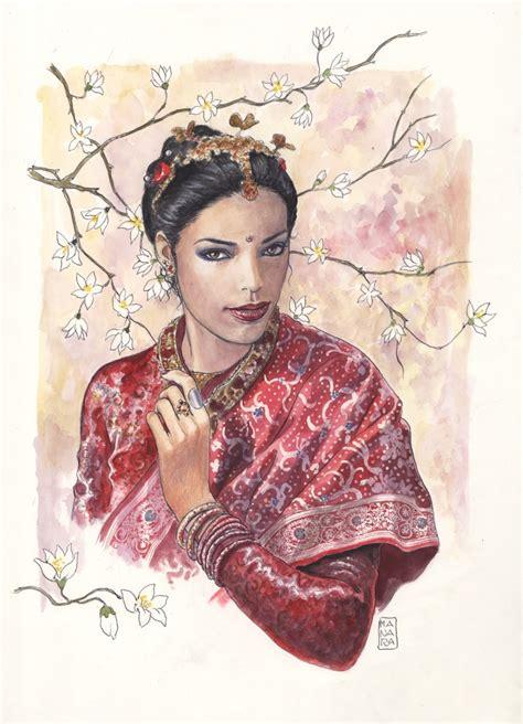 milo manara tavole milo manara ragazza indiana indian in satya