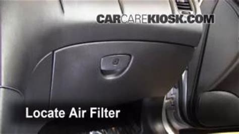 Bad Cabin Air Filter by Light Replacement 2008 2012 Infiniti Ex35 2008