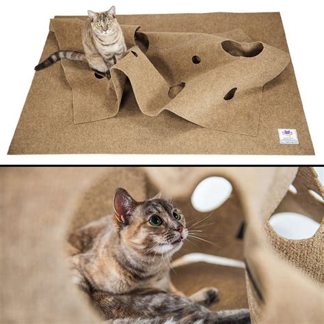 ripple rug interactive cat activity mat the green