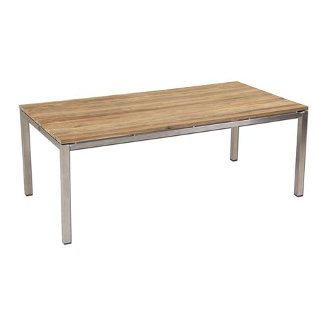 Recycled Teak Dining Table Essence Outdoor Brazil Recycled Teak Dining Table Plank Top 225