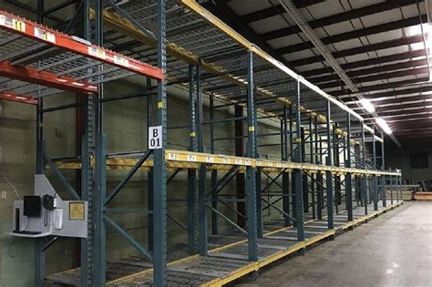 unarco pallet rack used unarco t bolt pallet racking just arrived