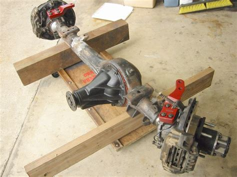 Toyota Solid Front Axle How Much Does A Solid Front Axle Weigh Early Toyota