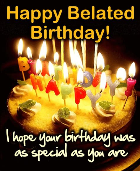 Happy Birthday Late Wishes Quotes Belated Happy Birthday Wishes Quotes Messages Images