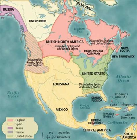 america map in 1783 beginnings to 1820 norton anthology of american