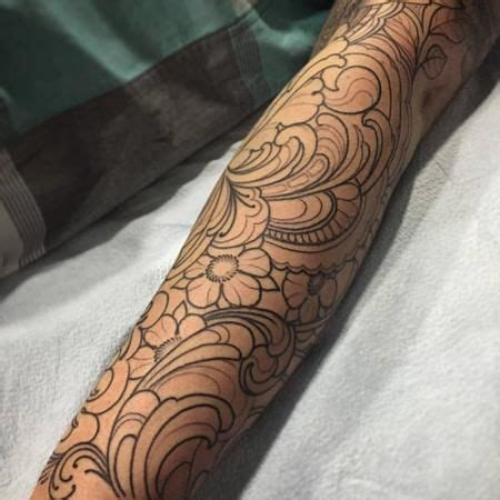 line work tattoo 17 best ideas about filigree on