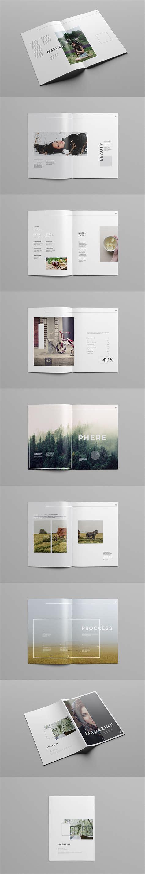 magazine template for adobe illustrator simple illustrator magazine template