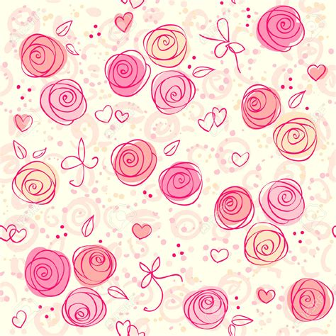 pink rose pattern clipart rose clipart wallpaper pencil and in color rose clipart
