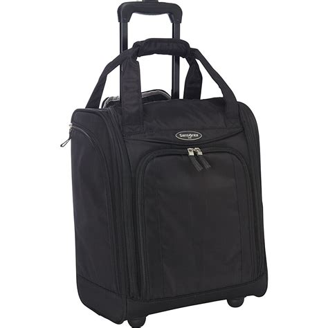 Samsonite Hyperspin 2 Wheeled Underseater Carry On Luggage by Samsonite Travel Accessories Wheeled Underseater Large Softside Carry On New Ebay
