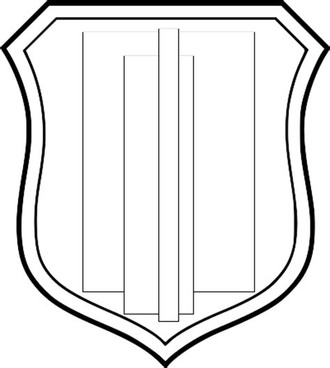 Shield Drawing Template by Shield Drawing Template Clipart Best