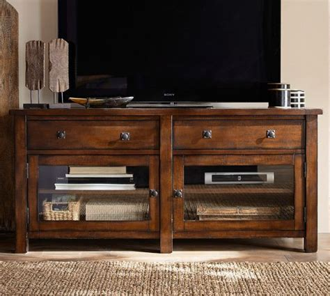1 299 benchwright tv stand pottery barn home