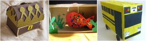 shoe box crafts for creative ideas to make with cardboard shoe boxes in the
