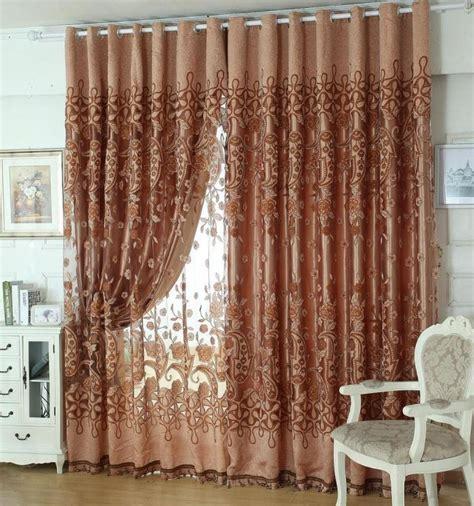 European Style Living Room Curtains 2014 New European Style Fashion Design Chiffon Curtains