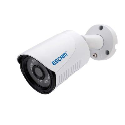 Escam Q630m Waterproof Bullet Ip Cctv 1 4 Inch Cmos 720p Murah escam plane qe07 waterproof bullet ip cctv 1 4 inch 1mp cmos 720p white