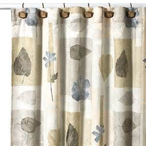 croscill 174 spa leaf 70 inch x 75 inch fabric shower curtain