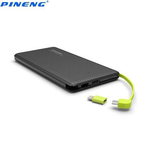 Li Usb Mobil genuine new pineng pn 951 10000mah portable battery mobile