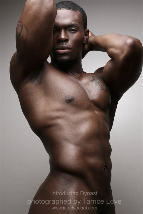 sexy african man hot black men dynast hollis
